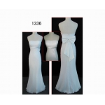 1336 latest design glamorous & sexy sleevess off-shoulder guangdong latest designer lace wedding dress