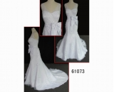 61073 brilliant beaded wedding gown hot sell in guangdong