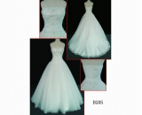 EG05 brilliant bridal dress embellish crystal Guangzhou fashion mermaid wedding dress
