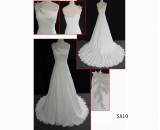 SA10 Sadur sexy one shoulder Guangzhou fashion latest zipper back A line wedding dress