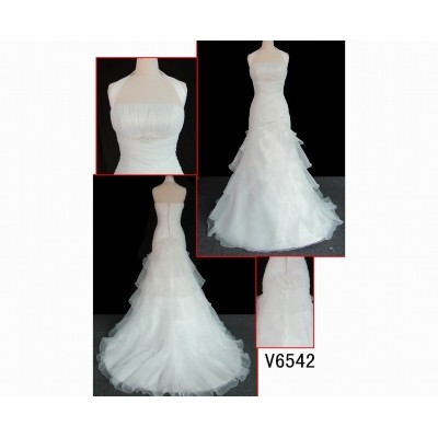 V6542 wedding gown in hot sell with discount