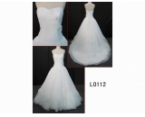 L0112 fashion sweetheart off-shoulder hot sell A line wedding dress