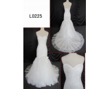 L0225 2013 luxury lace sexy mermaid customized hot sell wedding dress Guangzhou Panyu wholesale price bridal gown wedding dress
