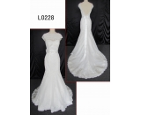 L0228 beautiful lace mermaid customized hot sell wedding dress Guangzhou Panyu wholesale price bridal gown wedding dress