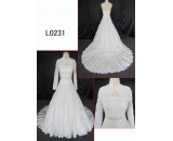 L0231 latest lace dress with jacket customized hot sell wedding dress Guangzhou Panyu wholesale price bridal gown wedding dress