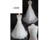 L0230 lace mermaid backless dress customized hot sell wedding dress Guangzhou Panyu wholesale price bridal gown wedding dress