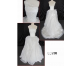 L0238 one shoulder lace bodice ruffle customized hot sell wedding dress Guangzhou Panyu wholesale price bridal gown wedding dress
