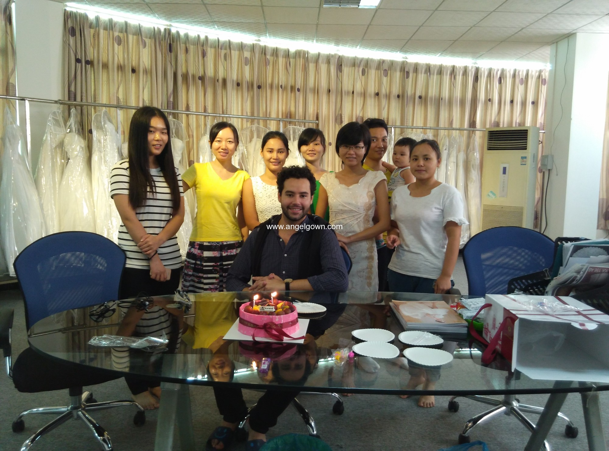 Celebrate birthday for Our America customer