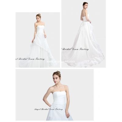 elegant sweetheart neckine lace wedding gown3