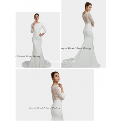 elegant sweetheart neckine lace wedding gown0